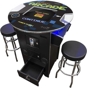 "2 Player 39""H Pub Table Arcade 