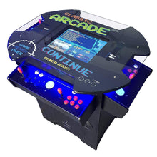 Load image into Gallery viewer, Creative Arcades Full-Size Commercial Grade Cocktail Arcade Machine | Trackball | Three-Sided | 1162 Classic Games | 4 Sanwa Joysticks | 2 Stools | 3-Year Warranty Creative Arcades