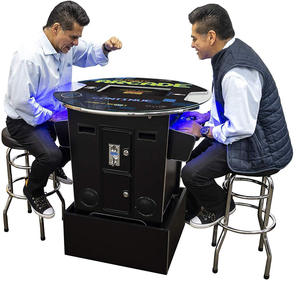 "2 Player 39""H Pub Table Arcade with Riser 