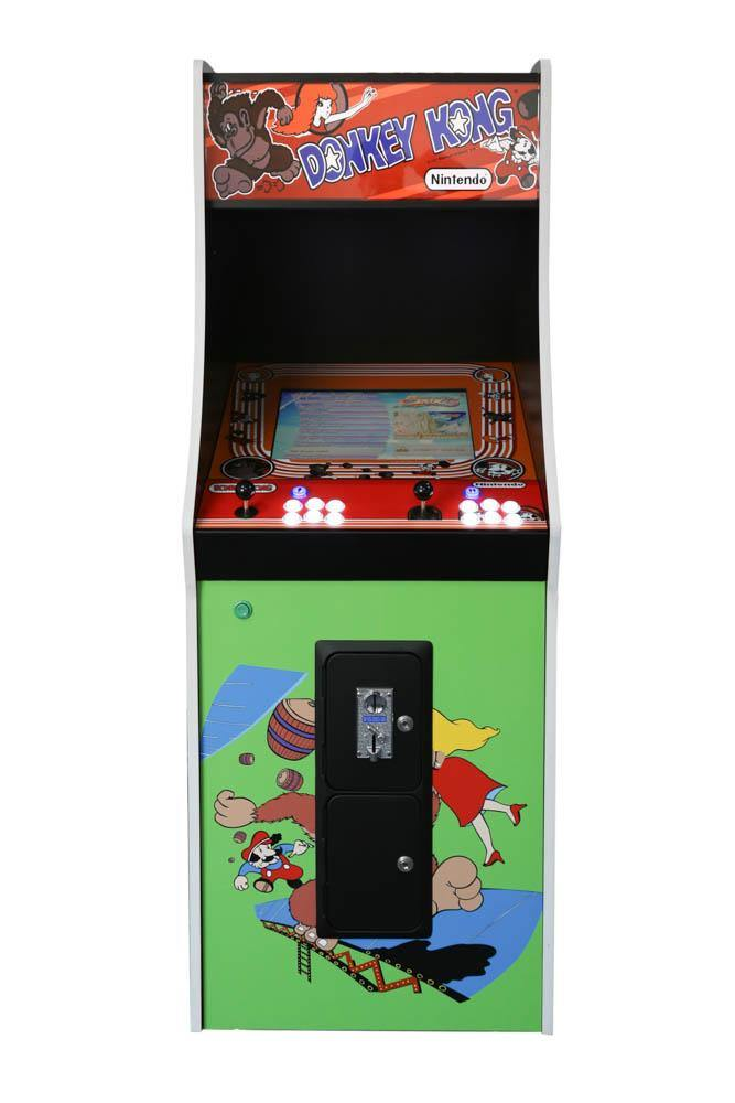 Classic Donkey Kong Arcade Cabinet Machine with 412 Games - The Classic Arcades