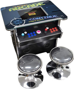 "2 PLAYER SINGLE SIDE COCKTAIL TABLE | 19"" LCD MONITOR 