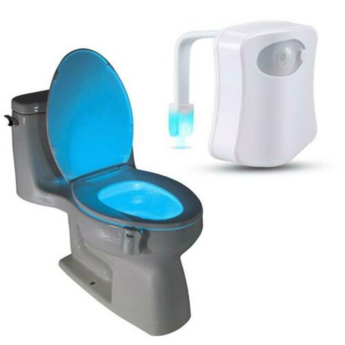 Eight-Color Toilet Light