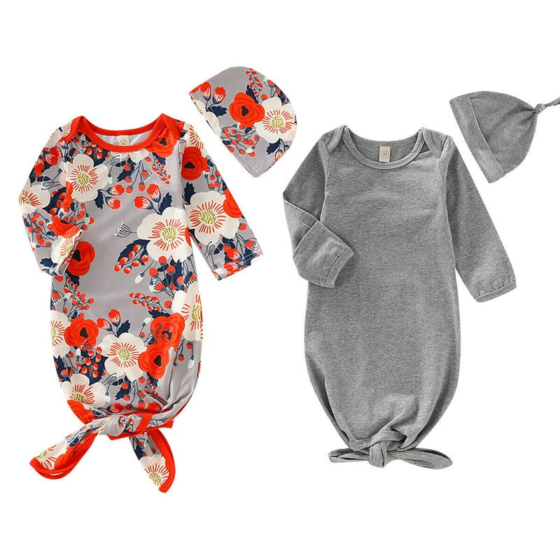 Clothes / Sleeping bag / Pajamas for Newborn with Hat. - Sol20