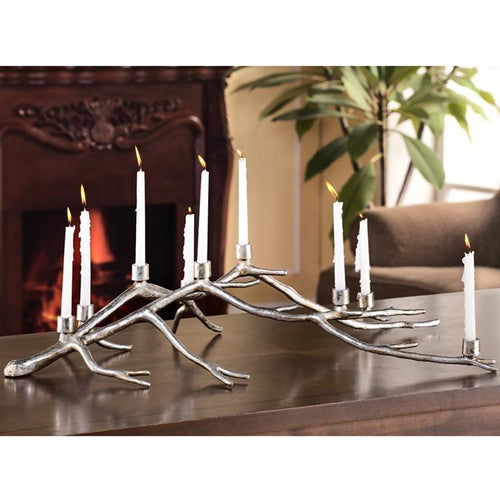 Branch Centerpiece Taper Candelabra-Iron Home Concepts