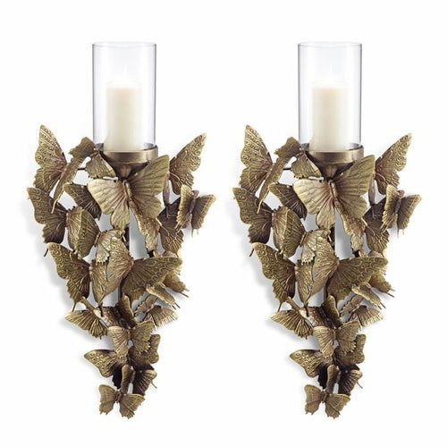 Butterfly Wall Sconce Set-Iron Home Concepts
