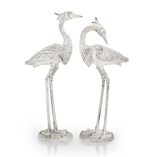 Courting Egrets Statue Set-Iron Home Concepts