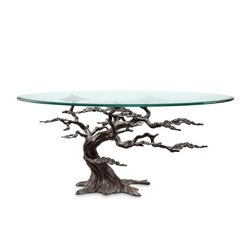 Cypress Tree Coffee Table-Iron Home Concepts