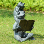 Eager Readers Garden Sculpture-Iron Home Concepts