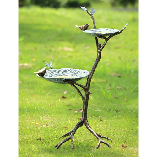 Gossiping Birds Birdfeeder-Iron Home Concepts