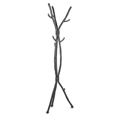 Mathews & Company Southfork Standing Coat Rack-Iron Home Concepts