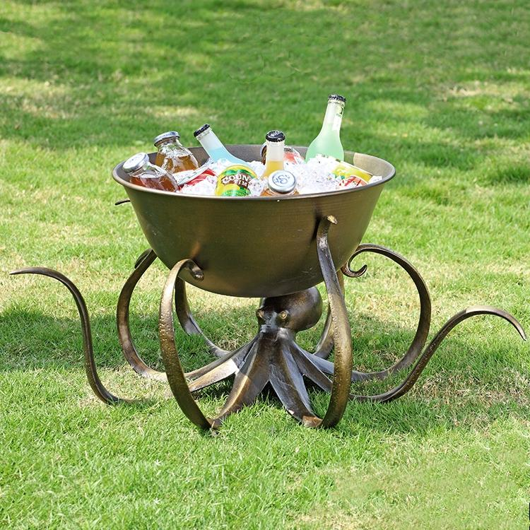 Octopus Beverage Tub-Iron Home Concepts