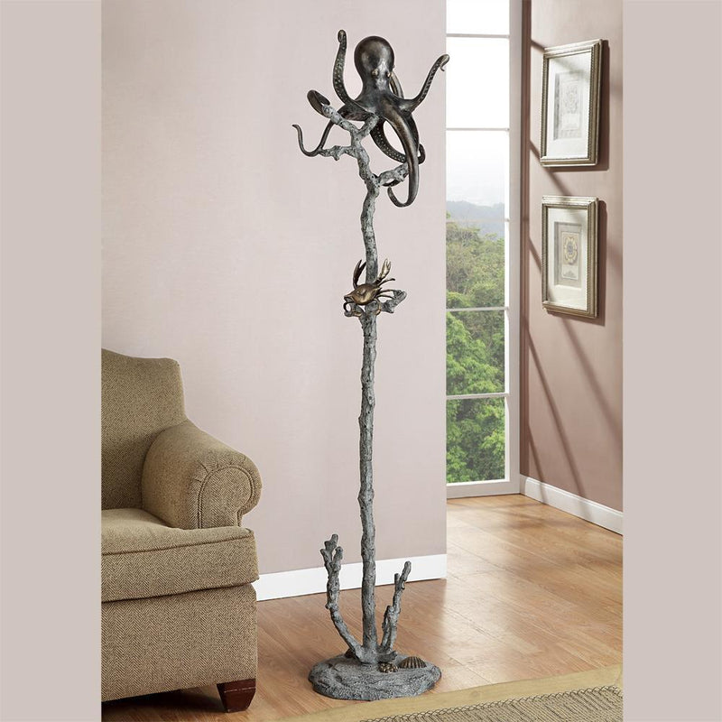 Octopus Coat Rack-Iron Home Concepts