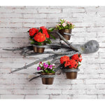 Octopus Wall Hanging Planter Holder-Iron Home Concepts
