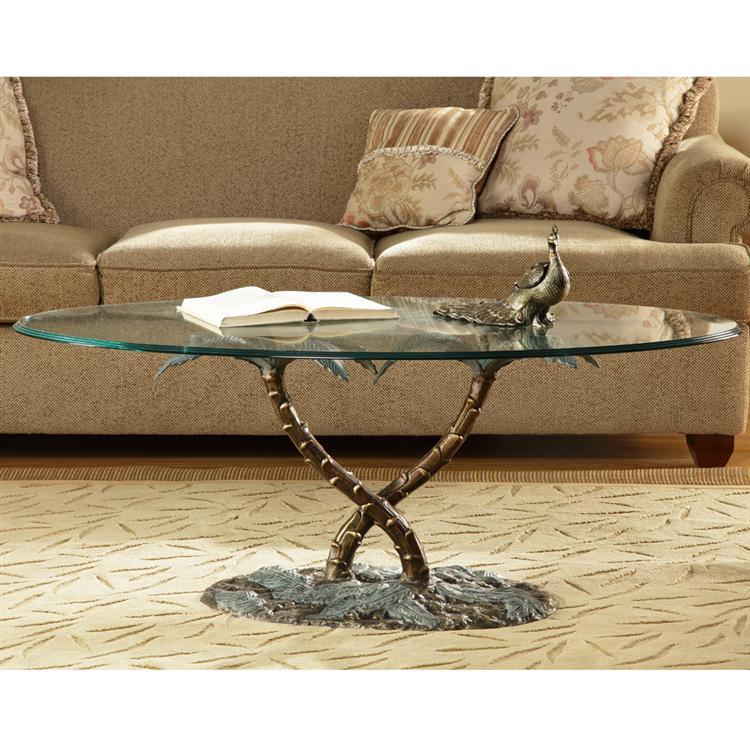 Palm Tree Coffee Table-Iron Home Concepts