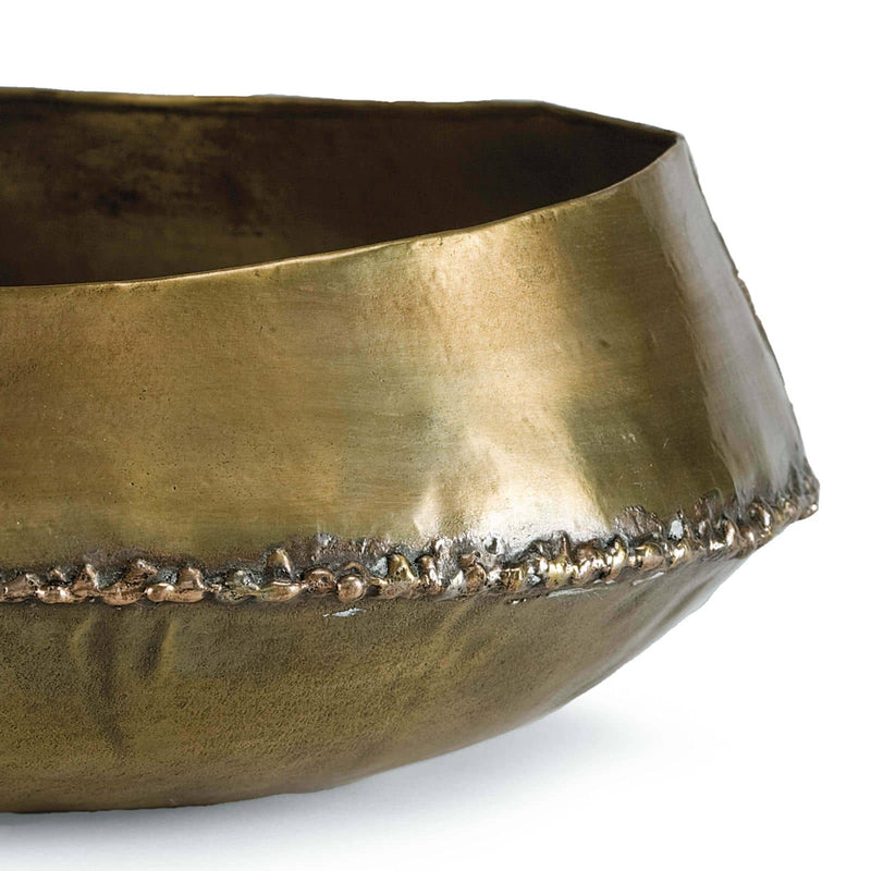 Regina Andrew Bedouin Bowl Large (Brass)-Functional Display-Iron Home Concepts