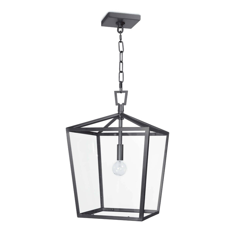 Regina Andrew Camden Lantern Small (Oil Rubbed Bronze)-Ceiling Fixtures-Iron Home Concepts
