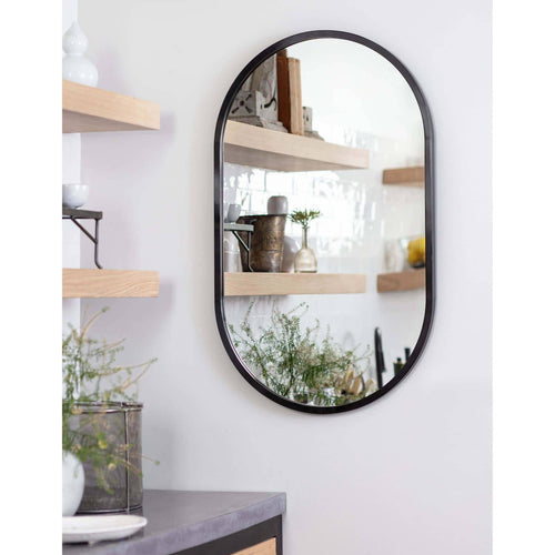 Regina Andrew Canal Mirror (Steel)-Mirrors & Wall Art-Iron Home Concepts