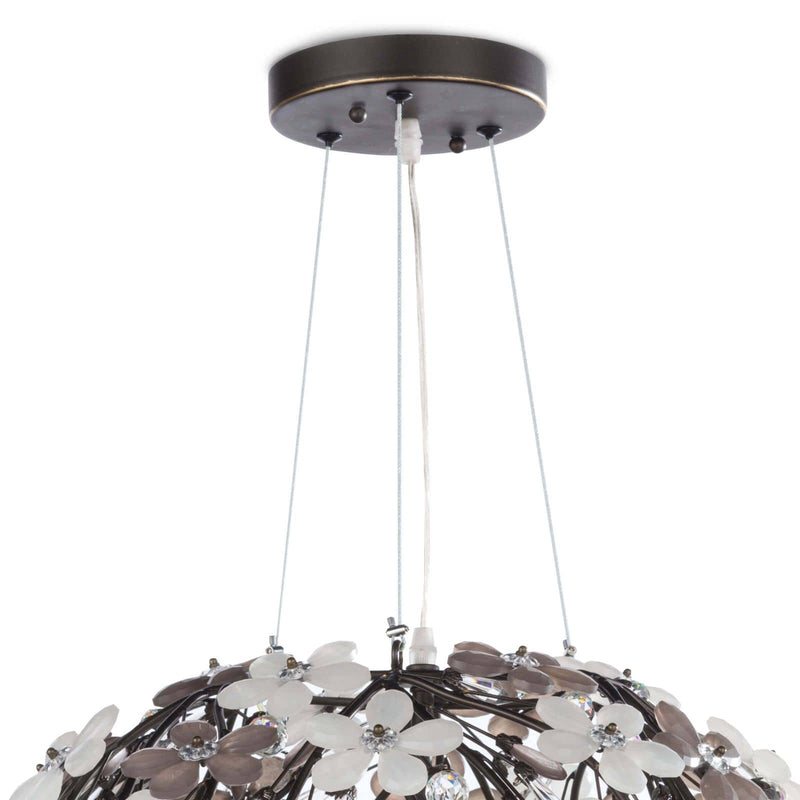 Regina Andrew Cheshire Chandelier Small (Oil Rubbed Bronze)-Ceiling Fixtures-Iron Home Concepts