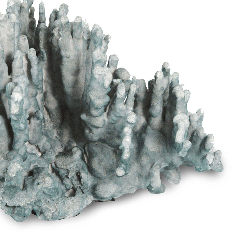 Regina Andrew Coral Art Piece Large (Blue)-Sculptural Objets-Iron Home Concepts