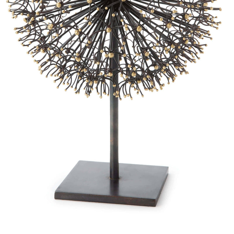 Regina Andrew Dandelion Sculpture Large-Sculptural Objets-Iron Home Concepts
