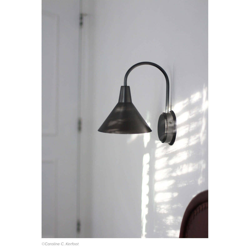 Regina Andrew Dublin Sconce (Oil Rubbed Bronze)-Wall Sconces-Iron Home Concepts