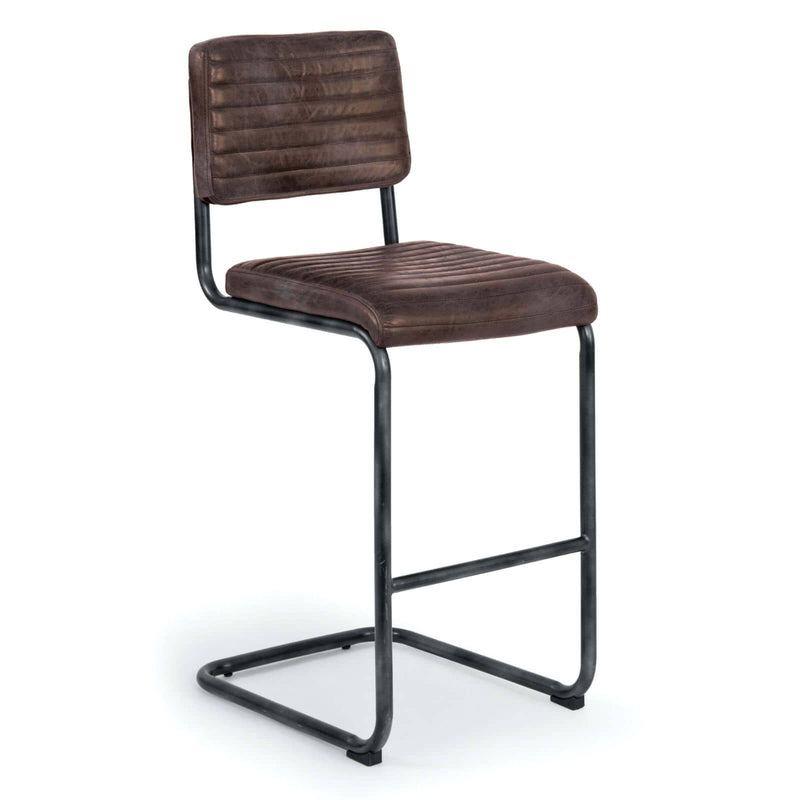 Regina Andrew Dylan Bar Stool (Set of 2) - Distressed Whiskey-Seating-Iron Home Concepts
