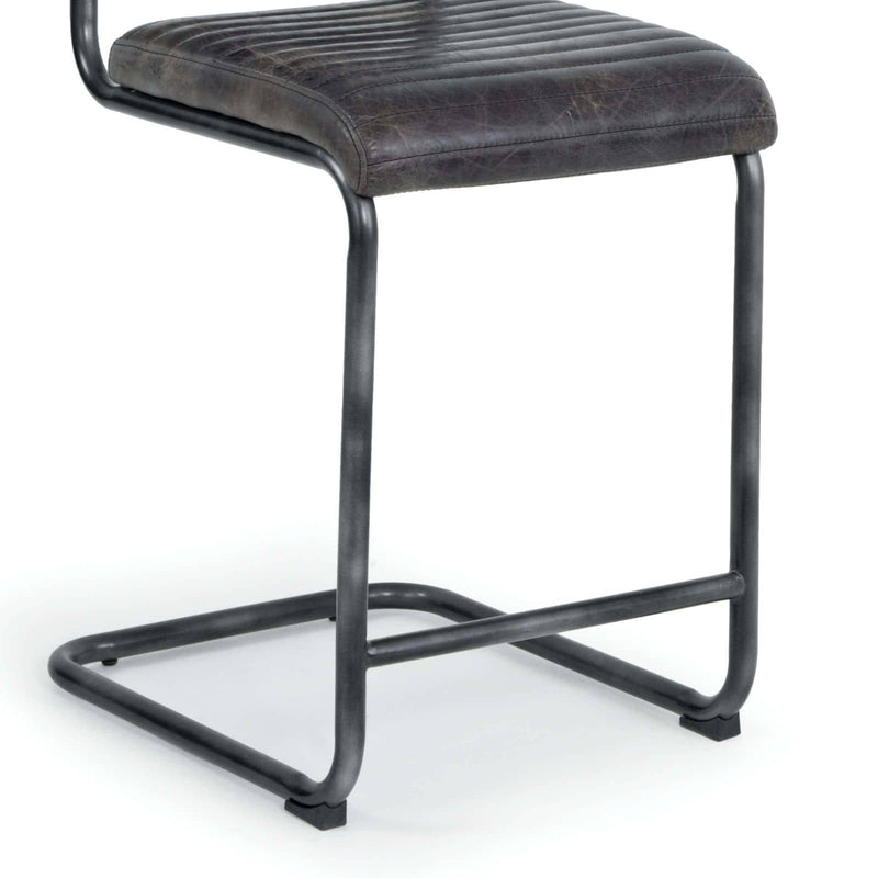Regina Andrew Dylan Counter Stool (Set of 2) - Ebony-Seating-Iron Home Concepts