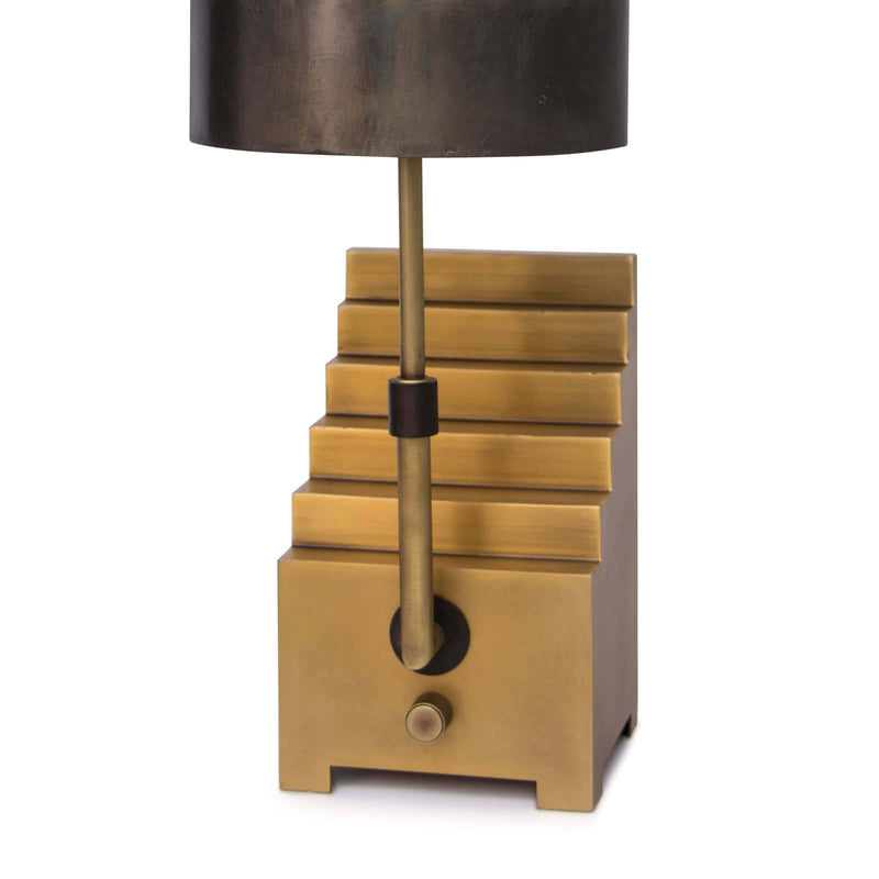 Regina Andrew Escher Bookend Light-Mini Lamps-Iron Home Concepts