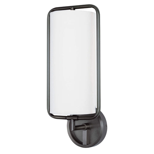 Regina Andrew Geo Rectangle Sconce (Oil Rubbed Bronze)-Wall Sconces-Iron Home Concepts