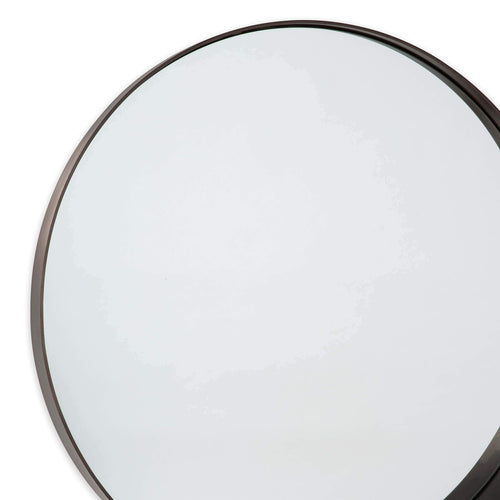 Regina Andrew Gunner Mirror Round (Steel)-Mirrors & Wall Art-Iron Home Concepts