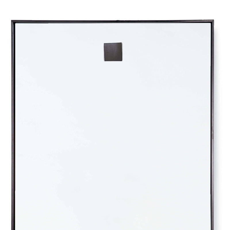 Regina Andrew Hanging Rectangle Mirror (Steel)-Mirrors & Wall Art-Iron Home Concepts