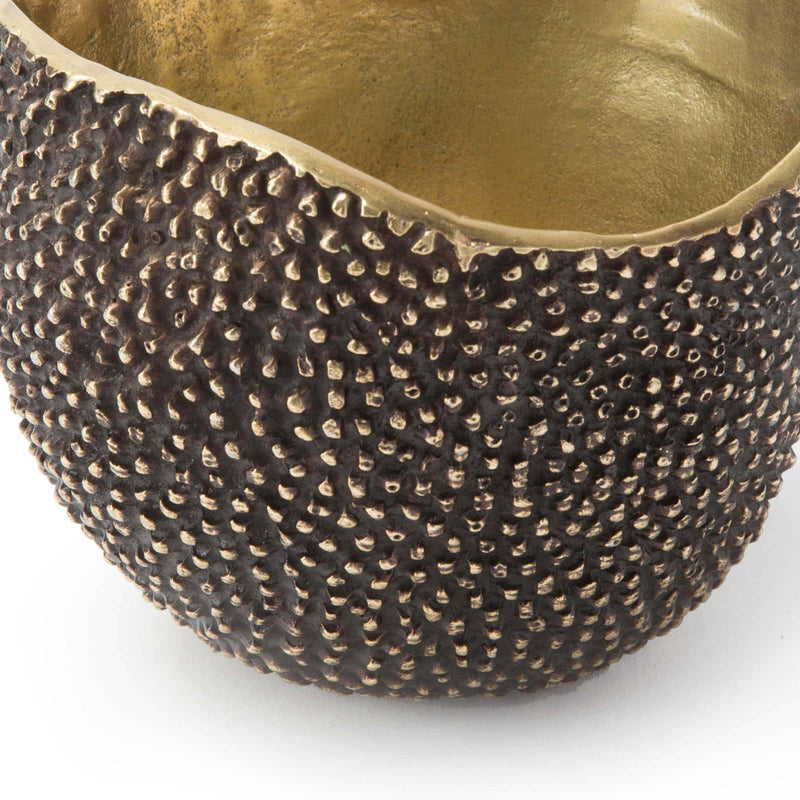 Regina Andrew Jack Bowl (Brass)-Functional Display-Iron Home Concepts