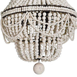Regina Andrew Malibu Chandelier (Weathered White)-Ceiling Fixtures-Iron Home Concepts