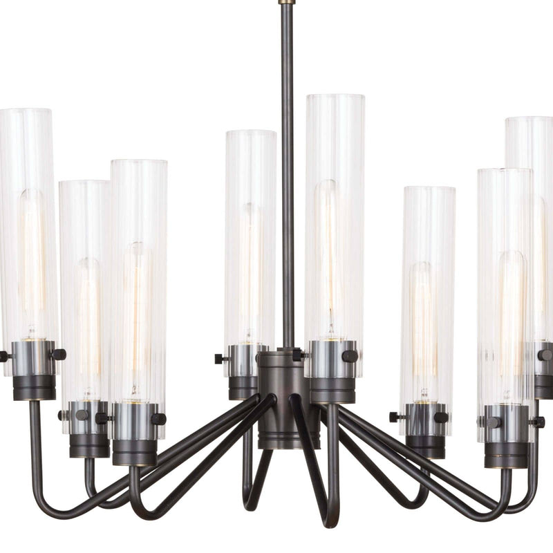 Regina Andrew Neo Chandelier Small (Oil Rubbed Bronze)-Ceiling Fixtures-Iron Home Concepts
