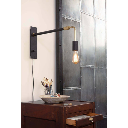 Regina Andrew Resident Sconce Small-Wall Sconces-Iron Home Concepts