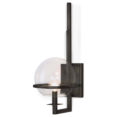 Regina Andrew Saturn Sconce (Oil Rubbed Bronze)-Wall Sconces-Iron Home Concepts