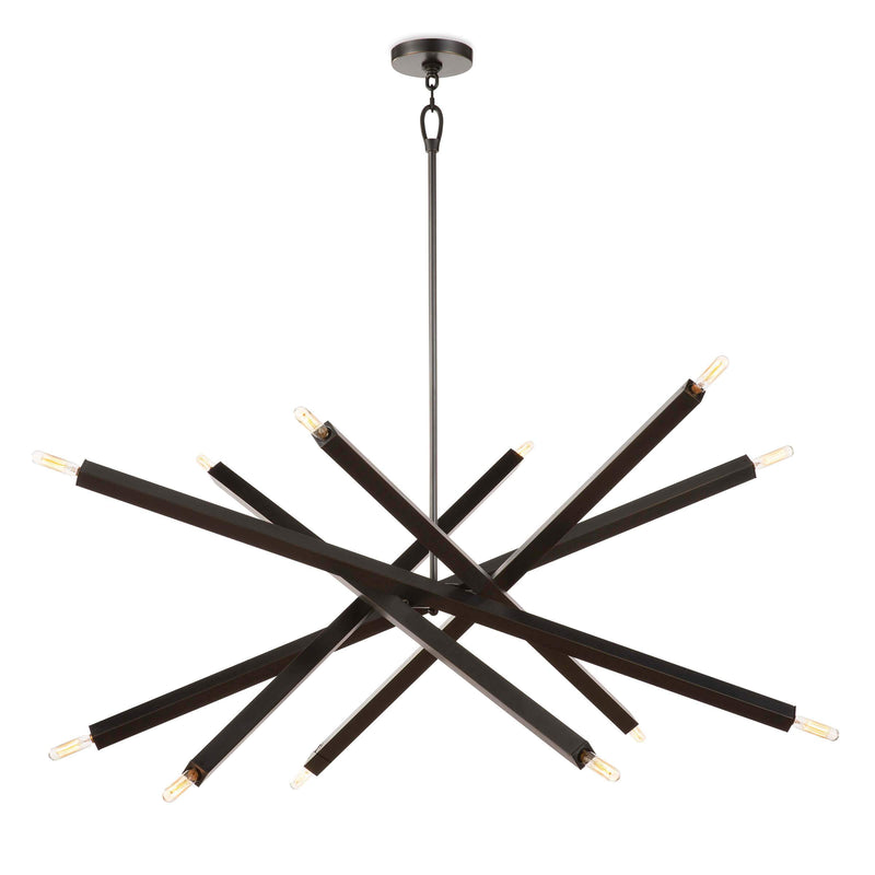 Regina Andrew Viper Chandelier (Oil Rubbed Bronze)-Ceiling Fixtures-Iron Home Concepts