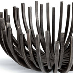 Regina Andrew Webbed Bowl Circle (Blackened Iron)-Functional Display-Iron Home Concepts