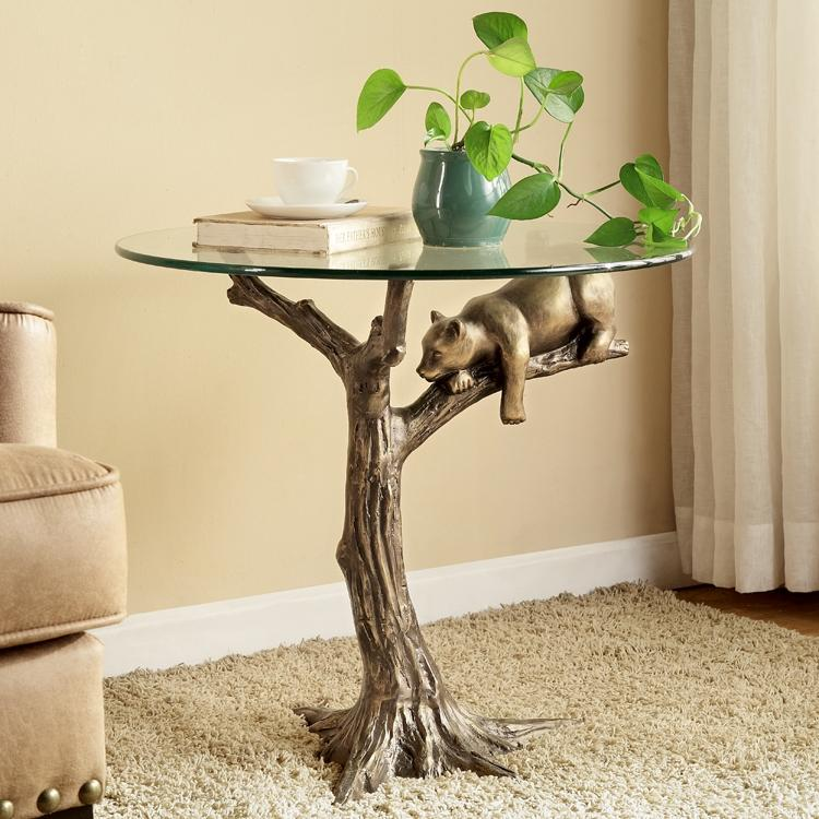 Sleepy Bear End Table-Iron Home Concepts