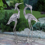 SPI Home Crested Egrets Statue Set-Iron Home Concepts