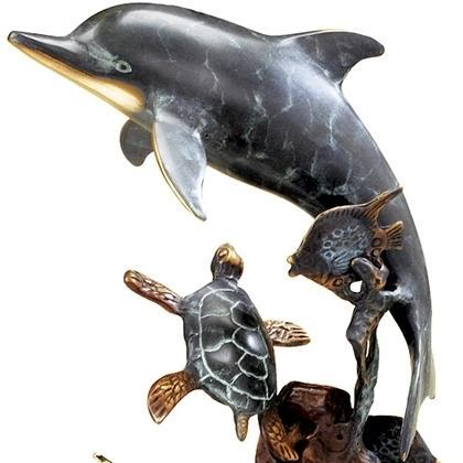 SPI Home Dolphin and Undersea Friends-Iron Home Concepts