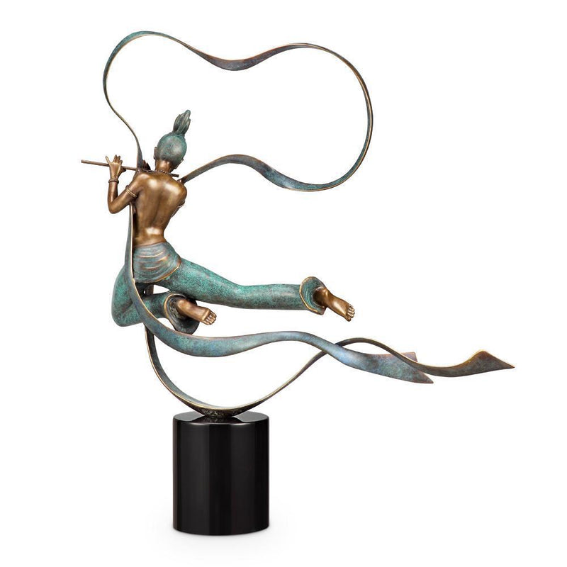 SPI Home Dunhuang Dancer with Flute-Iron Home Concepts