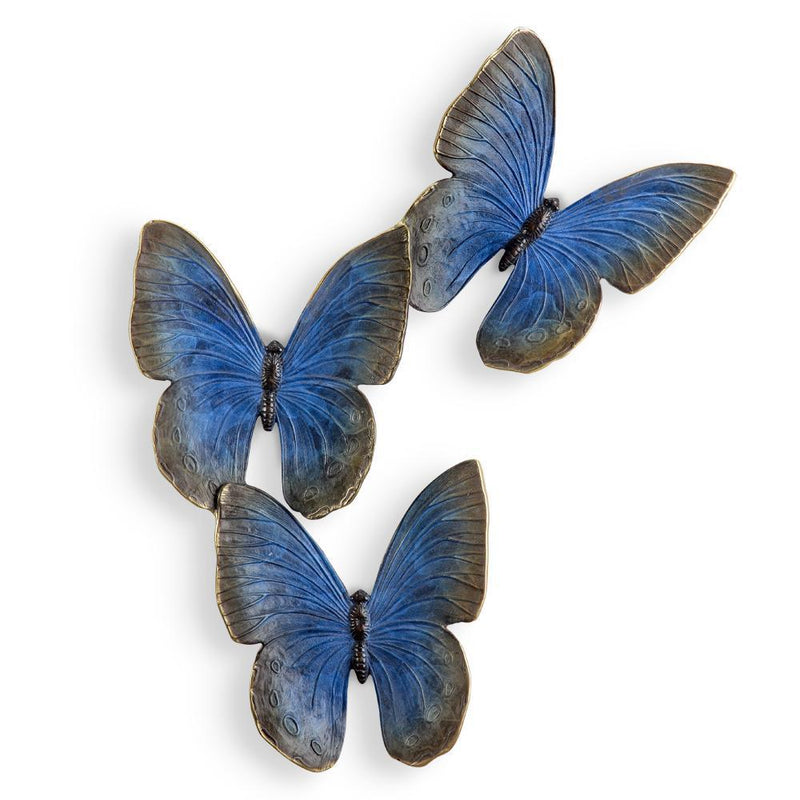 SPI Home Fluttering Butterflies Wall Plaque Decor-Iron Home Concepts