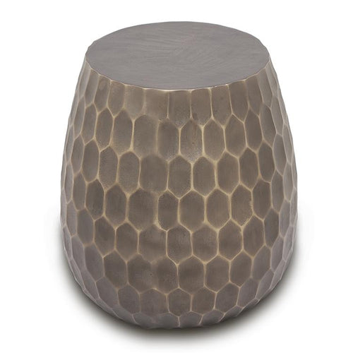 SPI Home Honeycomb Pattern Stool or Side Table-Iron Home Concepts
