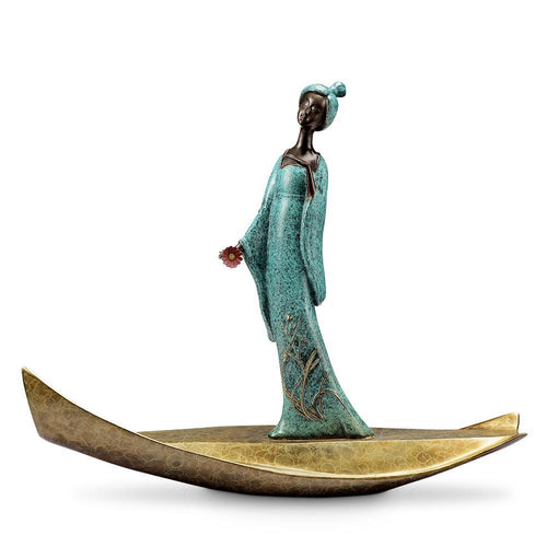 SPI Home Lady of Tang Actress Statue-Iron Home Concepts