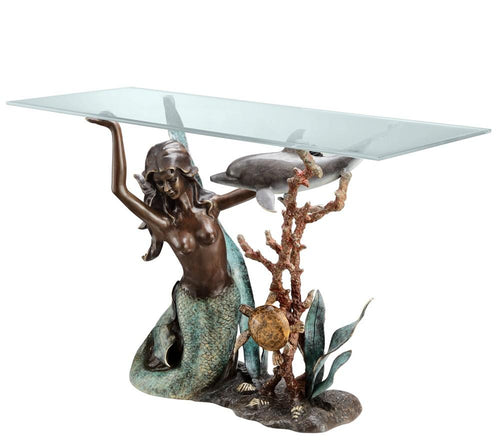 SPI Home Mermaid Console Table-Iron Home Concepts