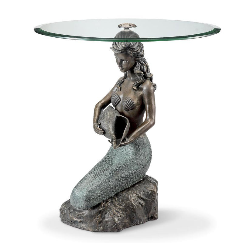 SPI Home Mermaid End Table-Iron Home Concepts