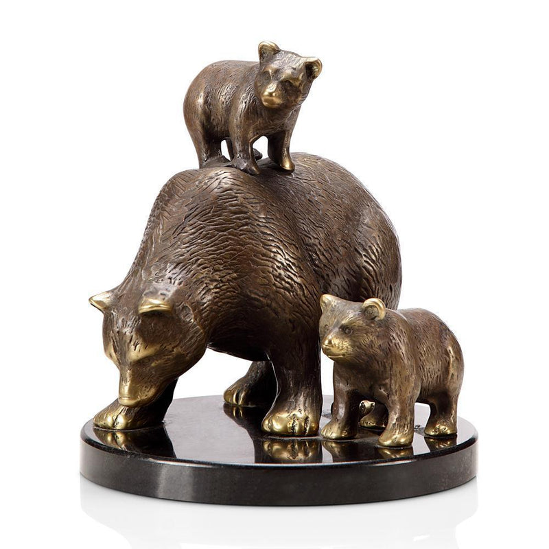 SPI Home Tahoe Trio Bear and Cubs-Iron Home Concepts