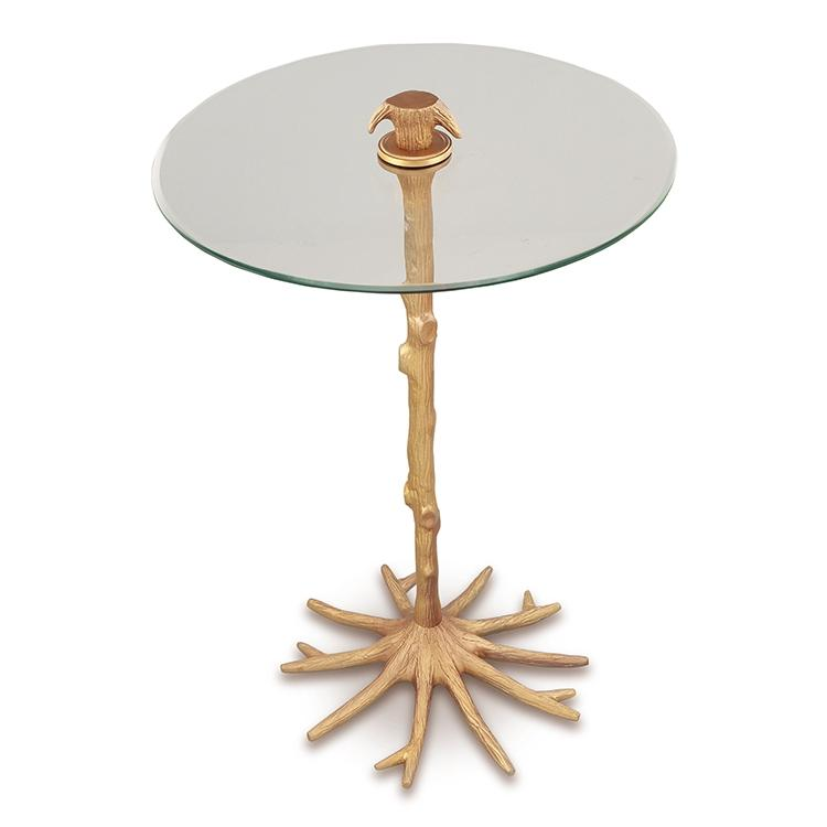 SPI Home Tree Trunk and Roots End Table-Iron Home Concepts