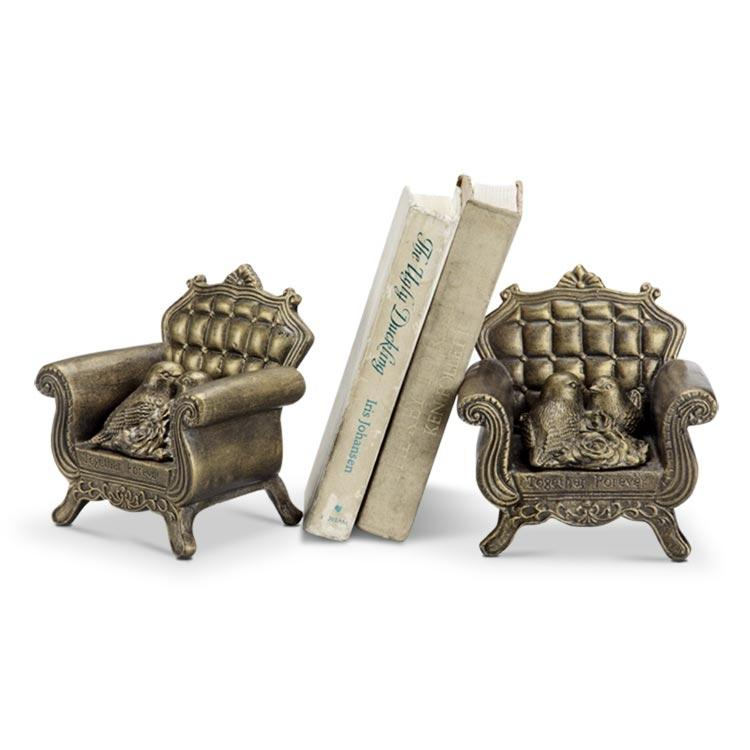 Together Forever Bookends Secret Storage Box-Iron Home Concepts